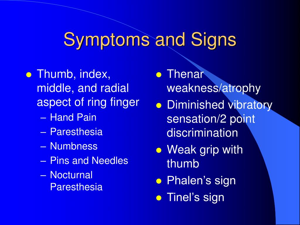 Thumb, index, middle, and radial aspect of ring finger