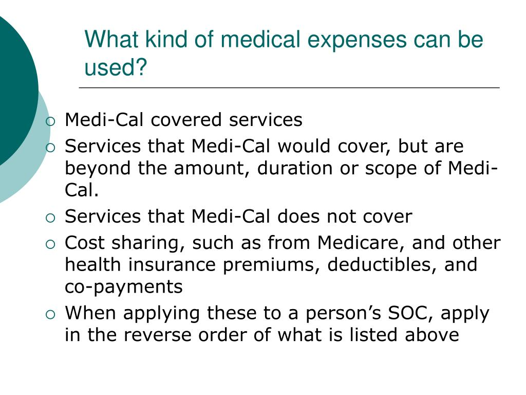 What kind of medical expenses can be used?