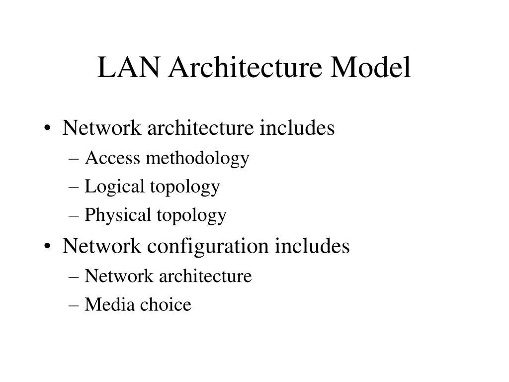 LAN Architecture Model