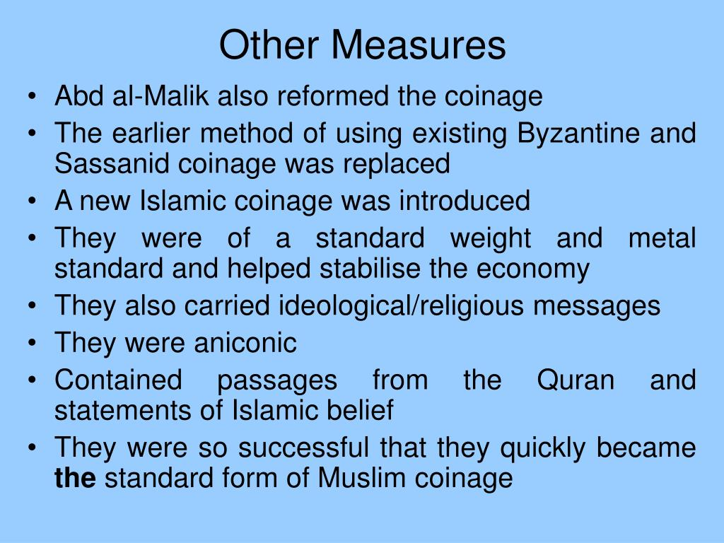 Other Measures