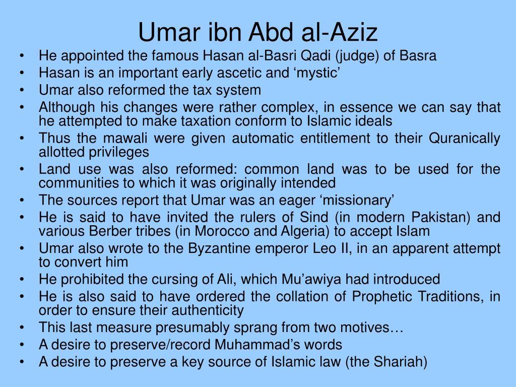 Umar ibn Abd al-Aziz
