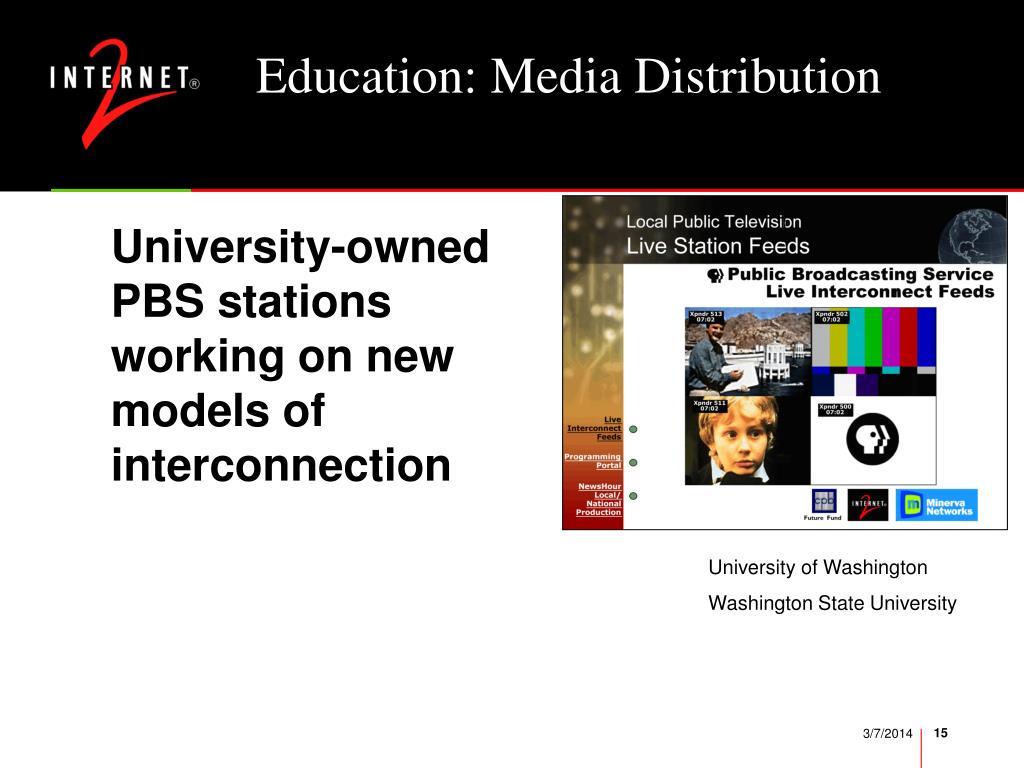 Education: Media Distribution
