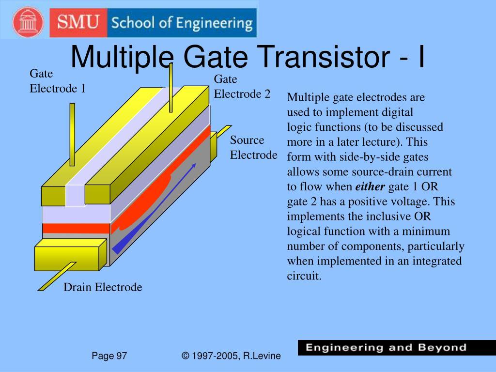 Multiple Gate Transistor - I