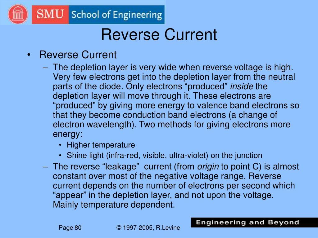 Reverse Current