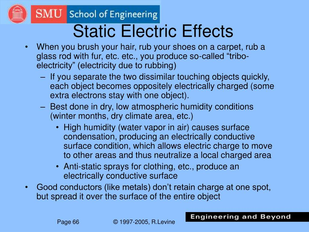 Static Electric Effects