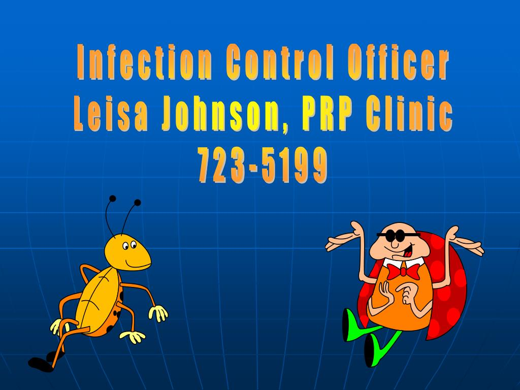 Infection Control Officer