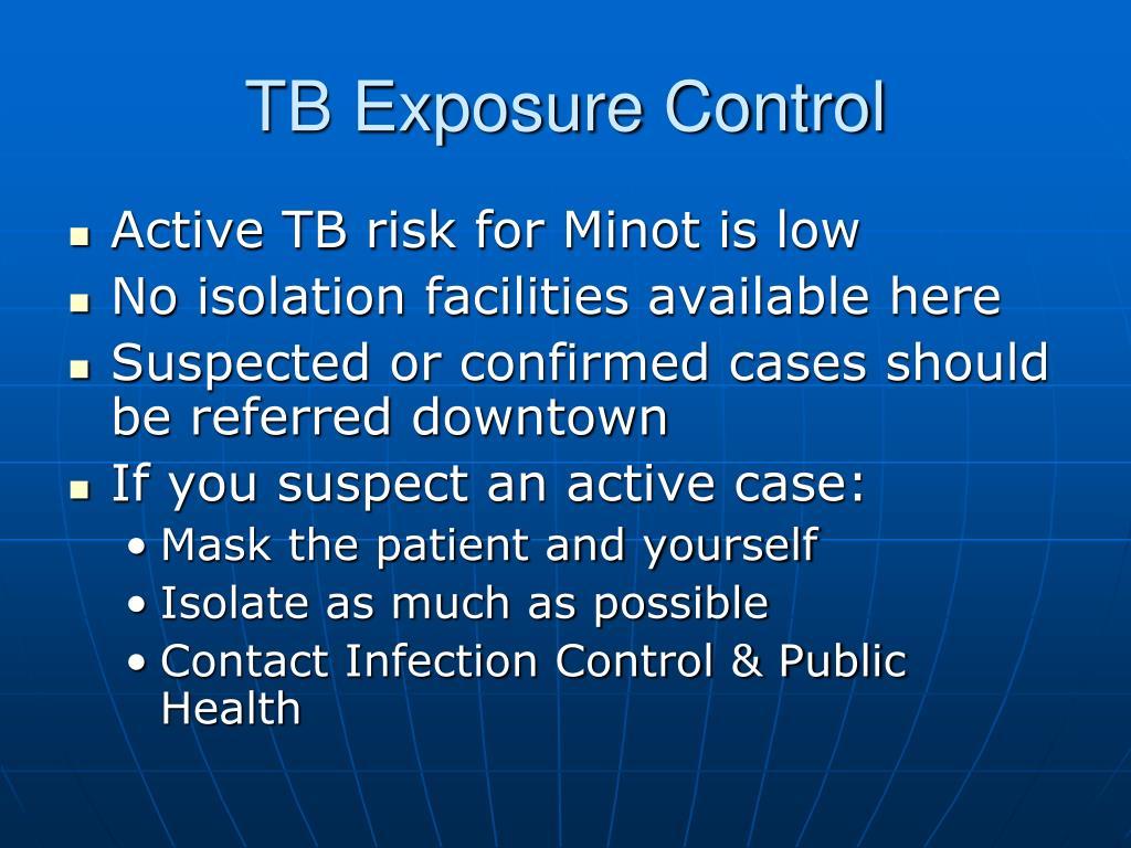 TB Exposure Control