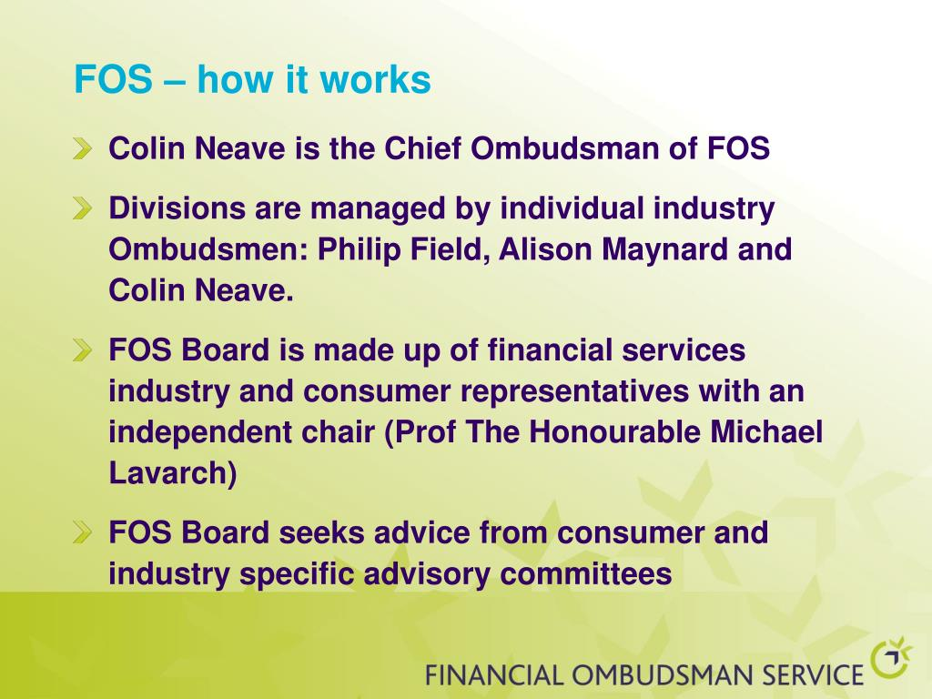 FOS – how it works