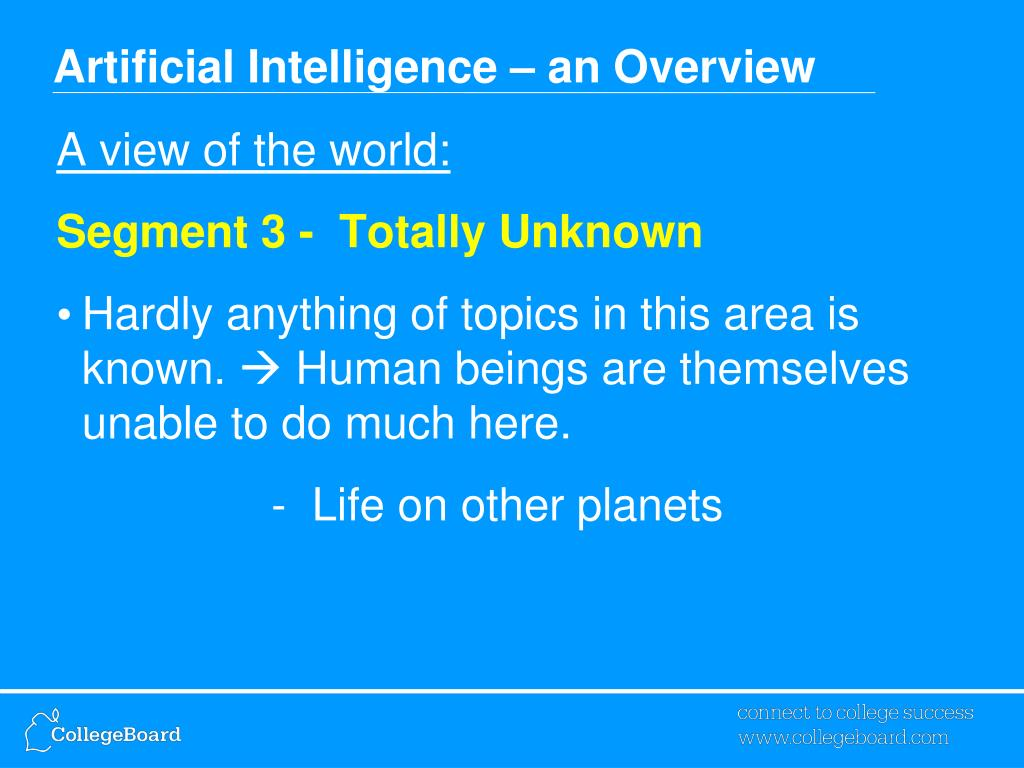 Artificial Intelligence PowerPoint Presentation