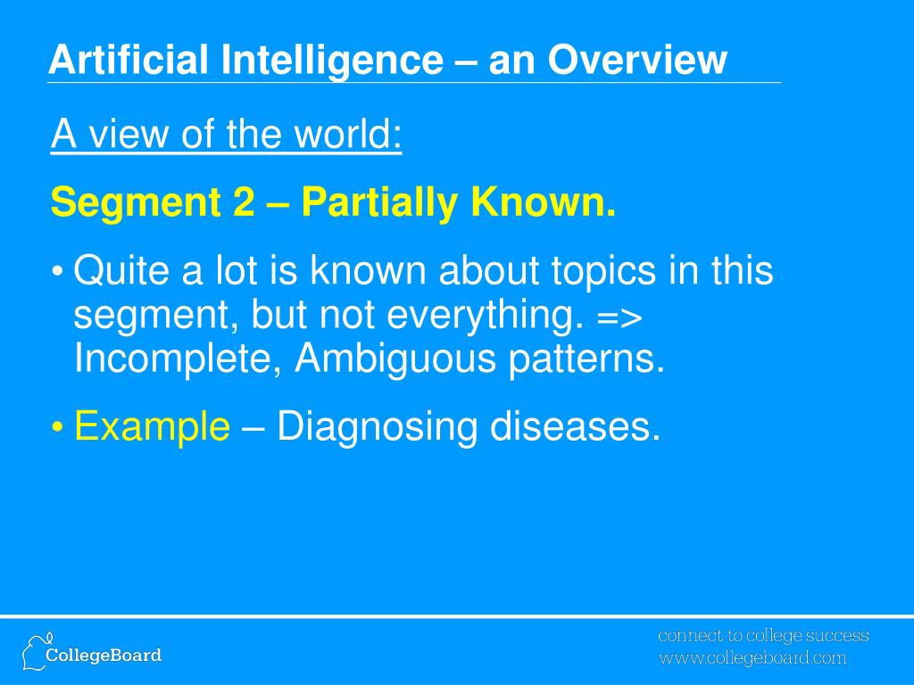 PPT Artificial Intelligence AI PowerPoint presentation
