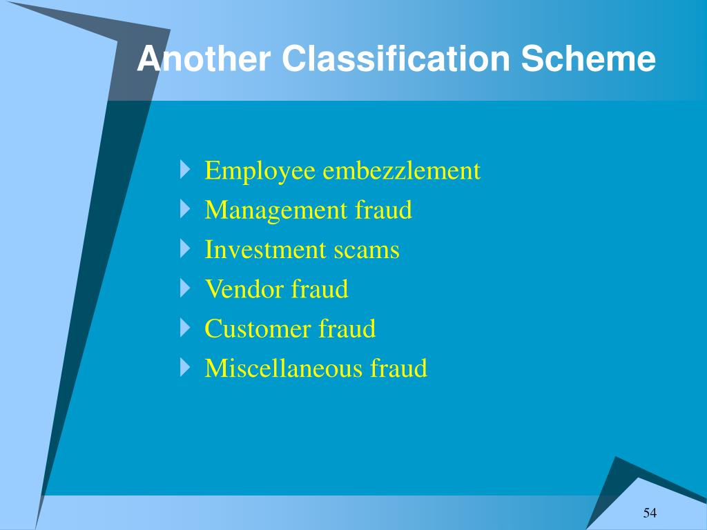 Another Classification Scheme