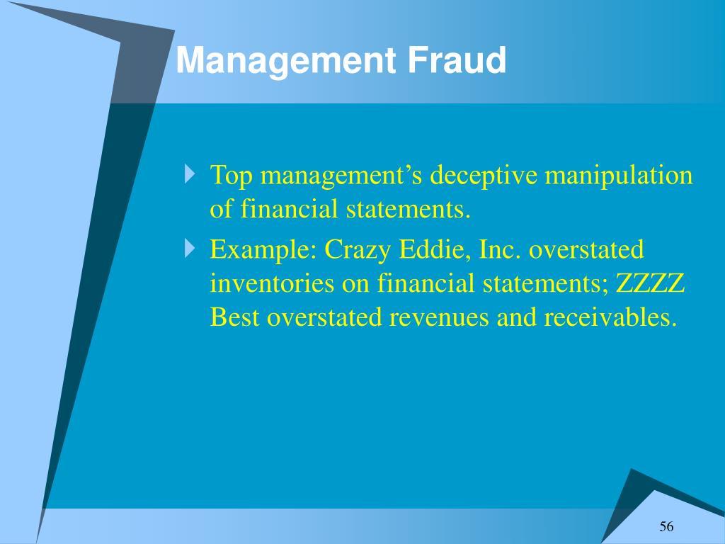 Management Fraud