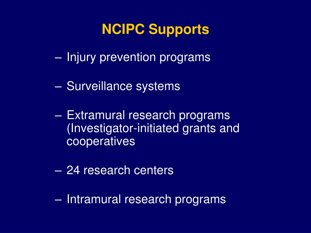 NCIPC Supports
