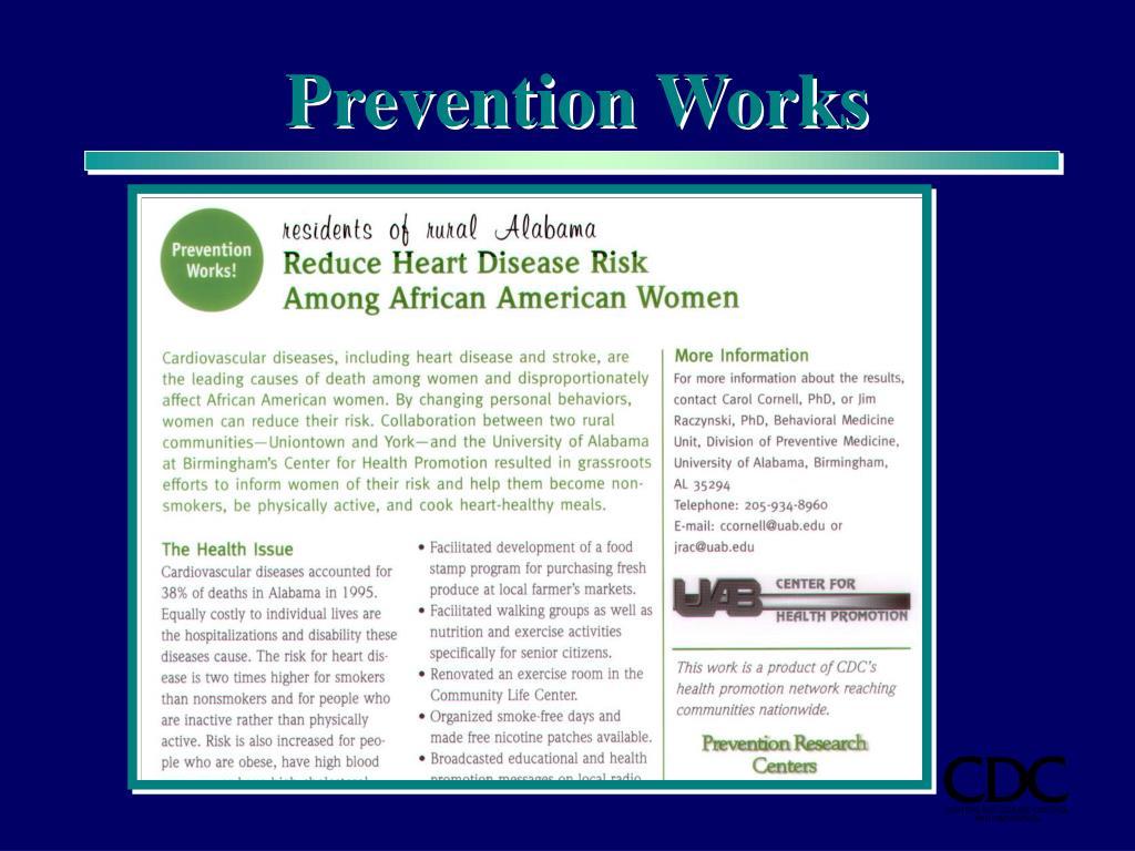Prevention Works