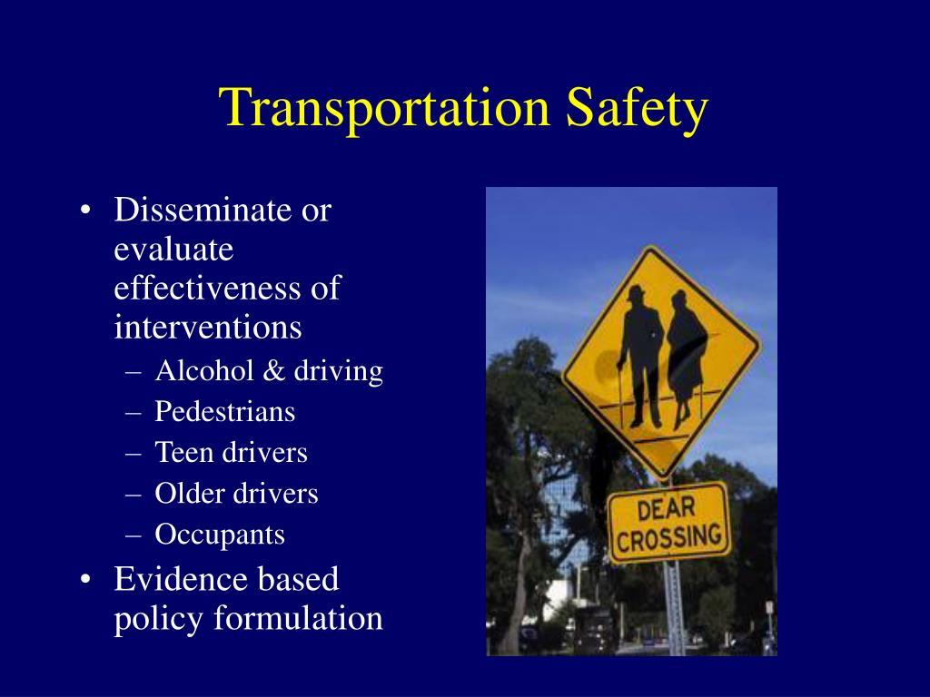 Transportation Safety