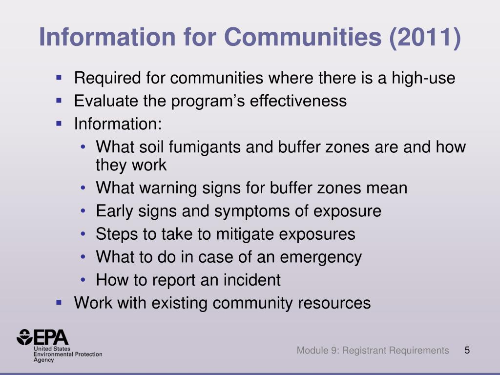 Information for Communities (2011)