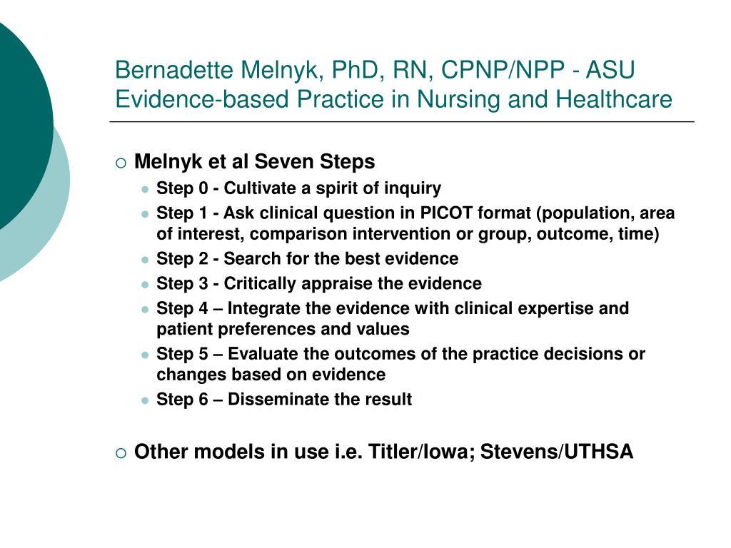 Bernadette Melnyk, PhD, RN, CPNP/NPP - ASU