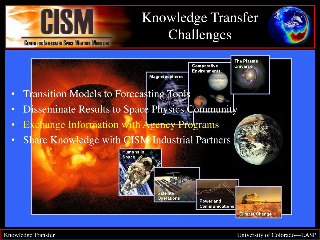 Knowledge Transfer Challenges