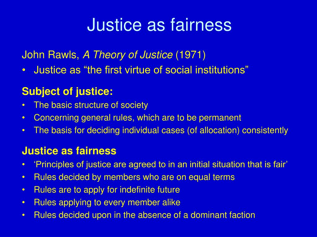 John rawls theory of justice summary essays
