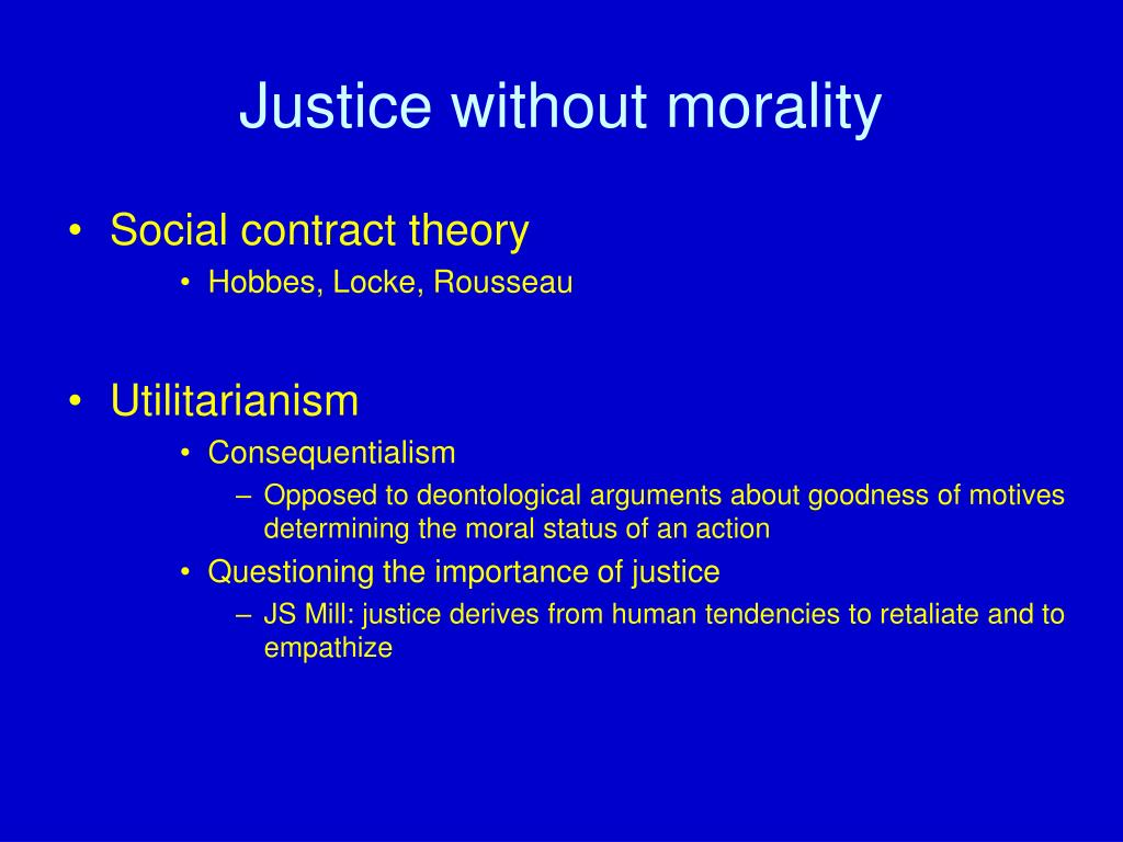 what is social contract theory and how has it affected the u s criminal justice system The concept of social contract theory through social contract, a new form of social , the only important role of the state is to ensure that justice.