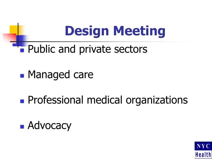 Design Meeting