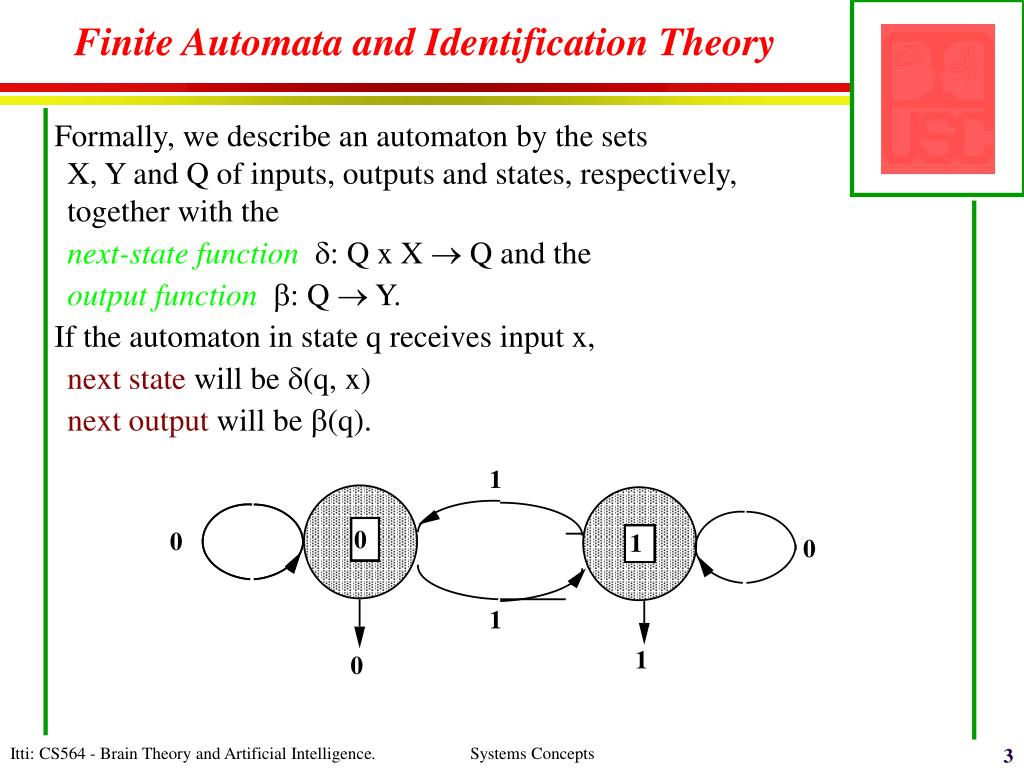 Finite Automata and Identification Theory