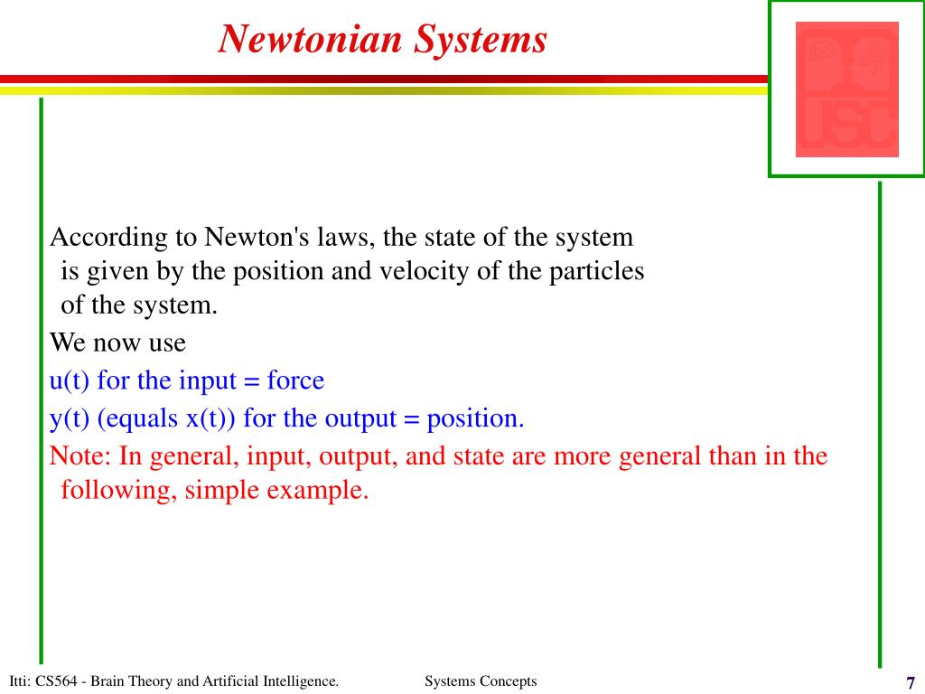 Newtonian Systems