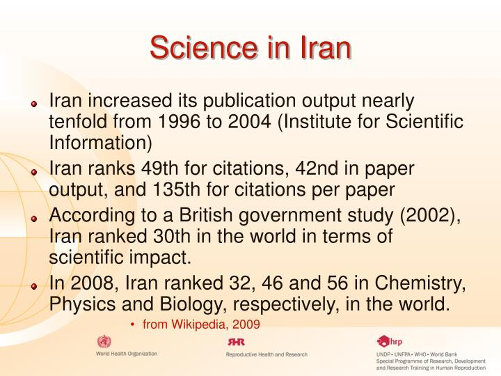 Science in Iran