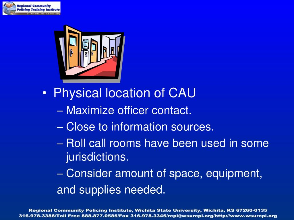 Physical location of CAU