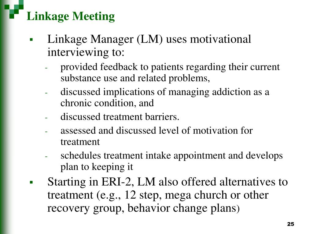 Linkage Meeting