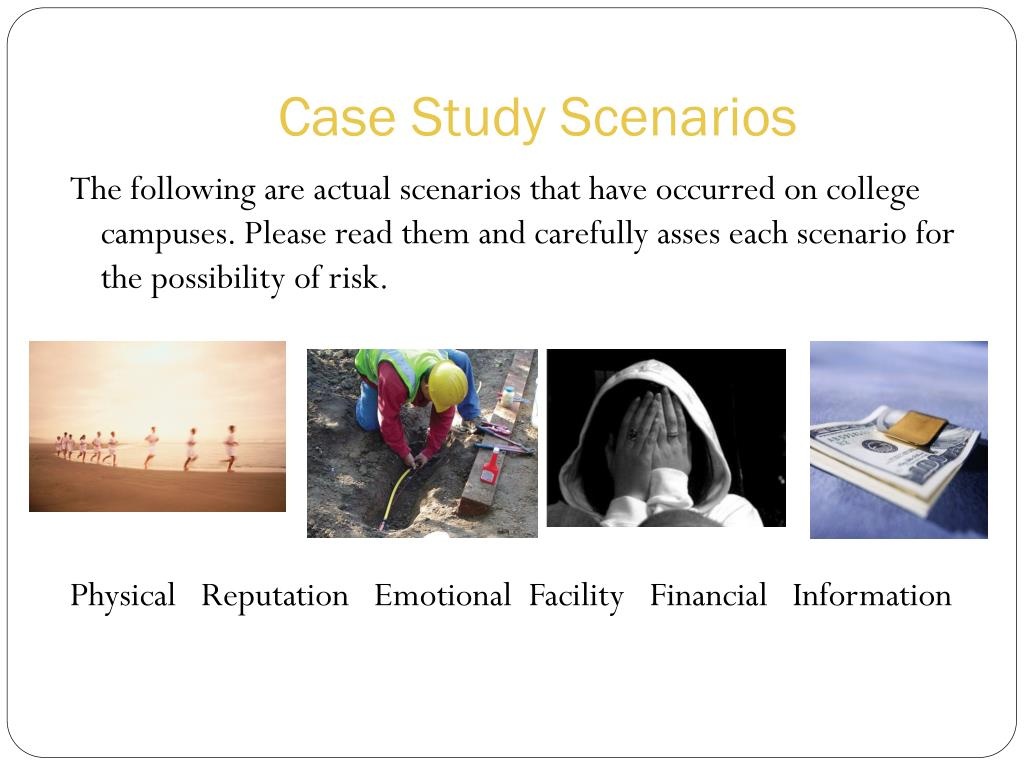 Case Study Scenarios
