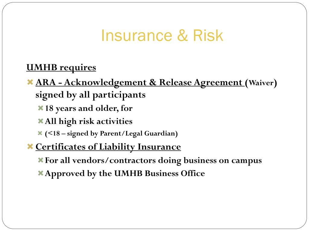 Insurance & Risk