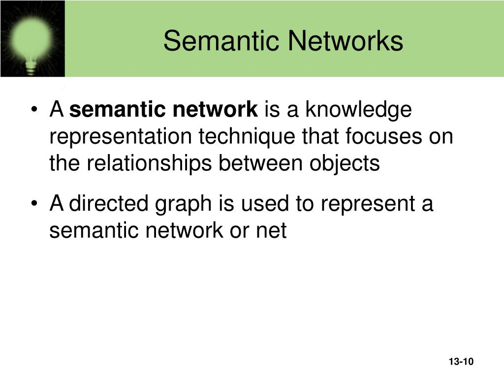 Semantic Networks