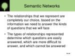 semantic networks12