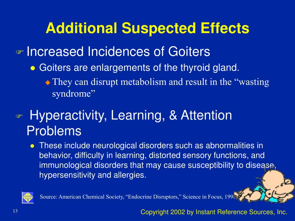 Additional Suspected Effects