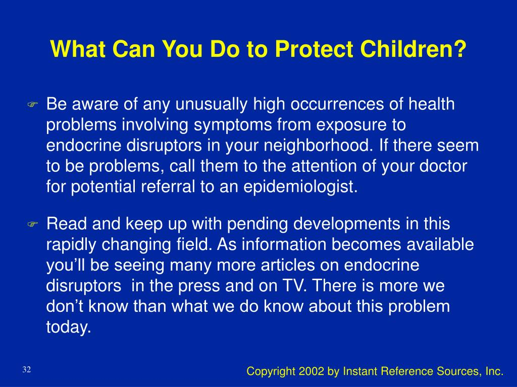 What Can You Do to Protect Children?