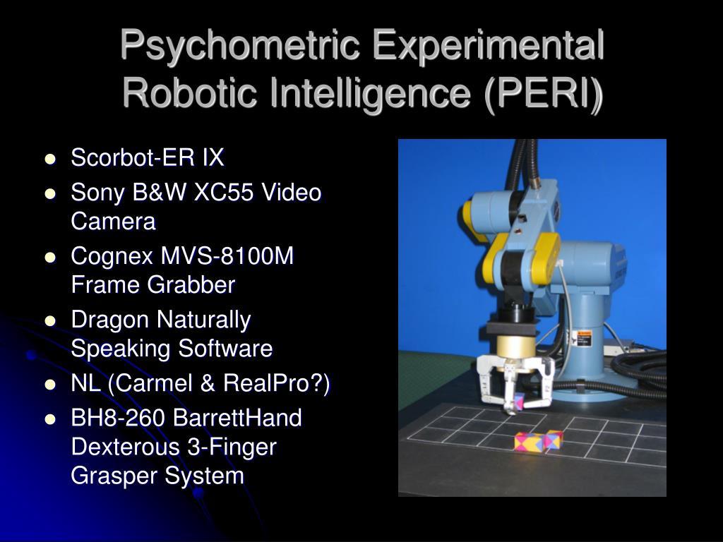 Psychometric Experimental