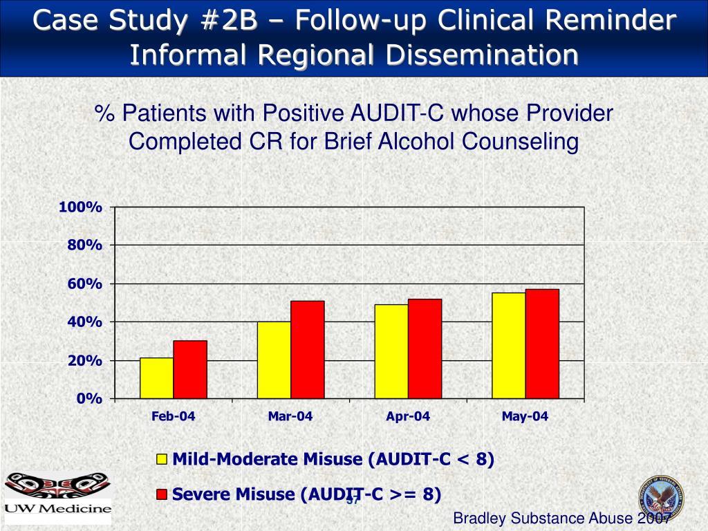 Case Study #2B – Follow-up Clinical Reminder