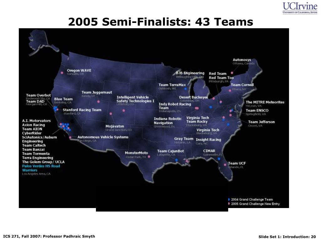 2005 Semi-Finalists: 43 Teams