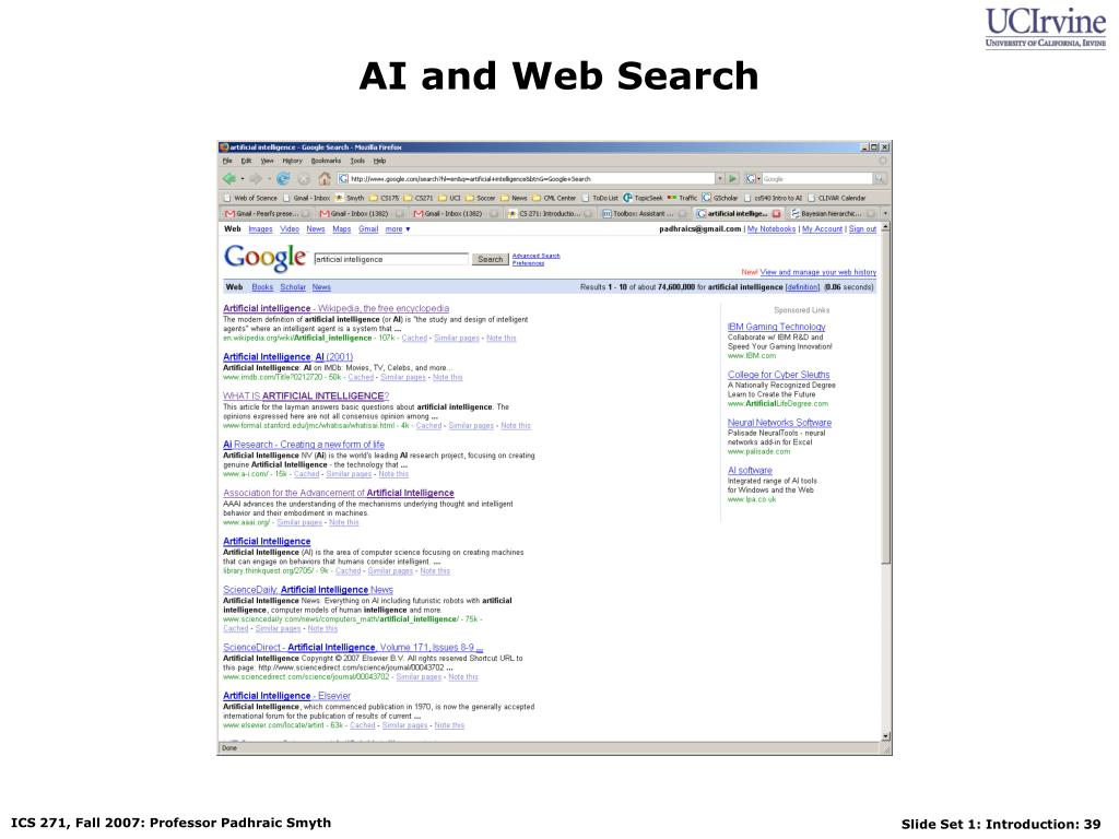AI and Web Search