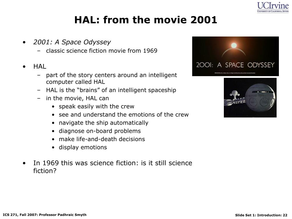 HAL: from the movie 2001