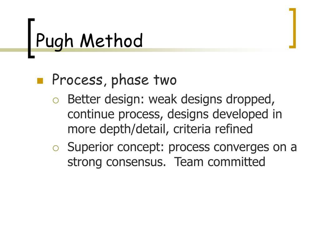 Pugh Method