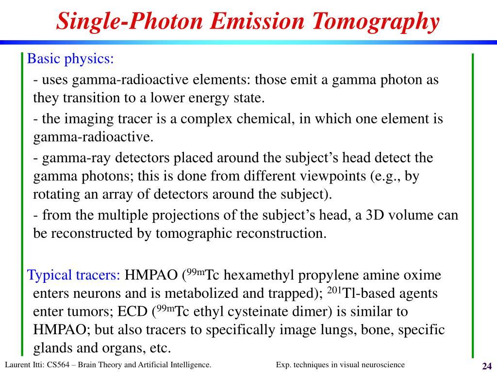 Single-Photon Emission Tomography