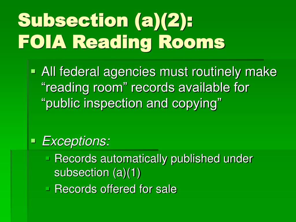 Subsection (a)(2):