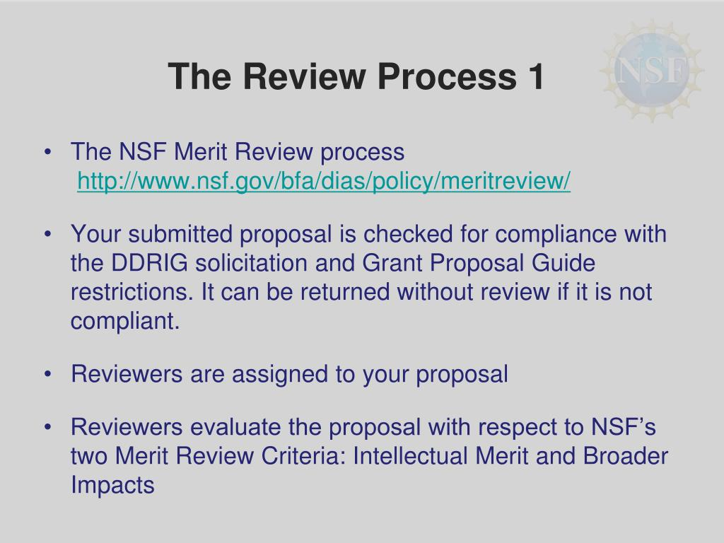 The Review Process 1