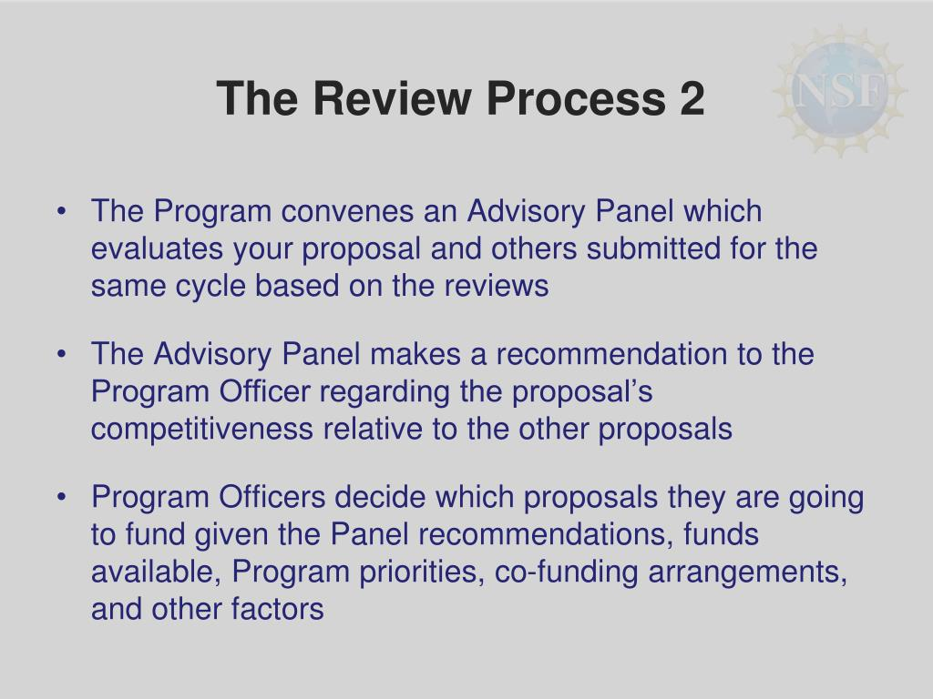 The Review Process 2