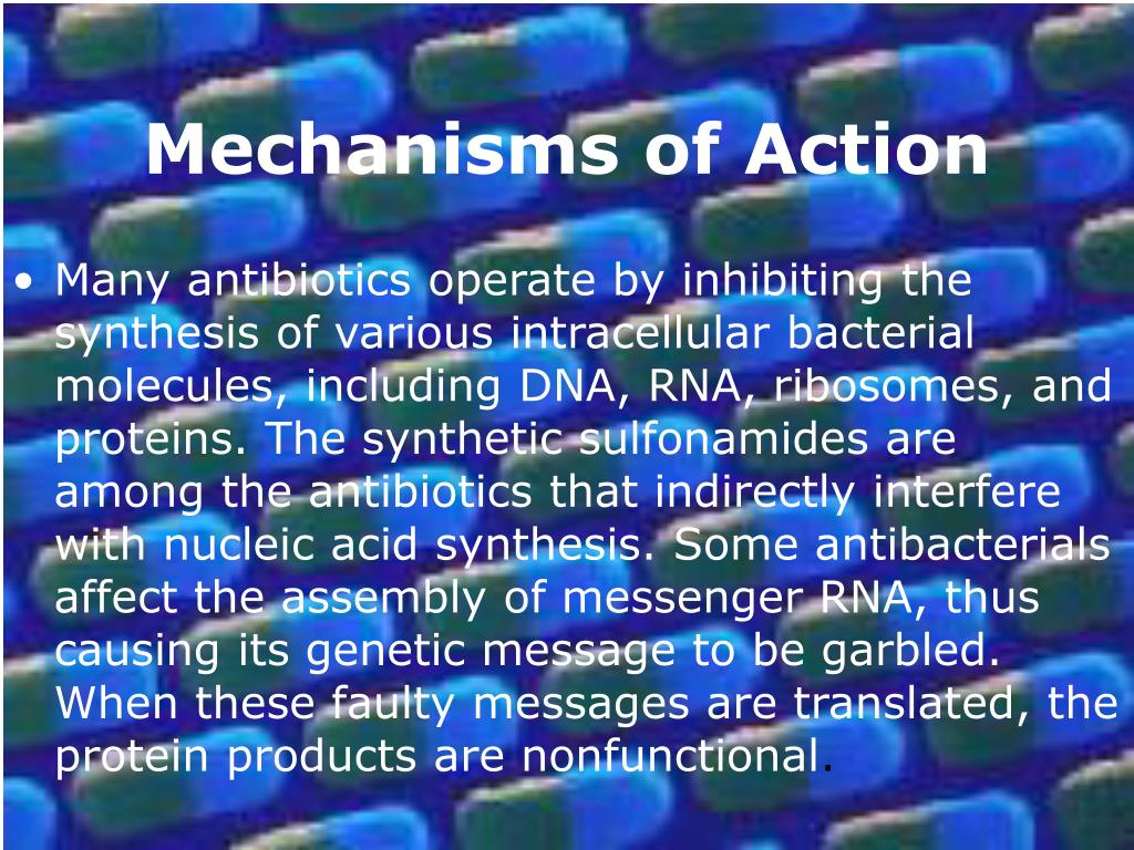 Mechanisms of Action