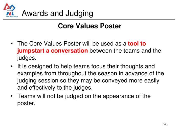Awards and Judging