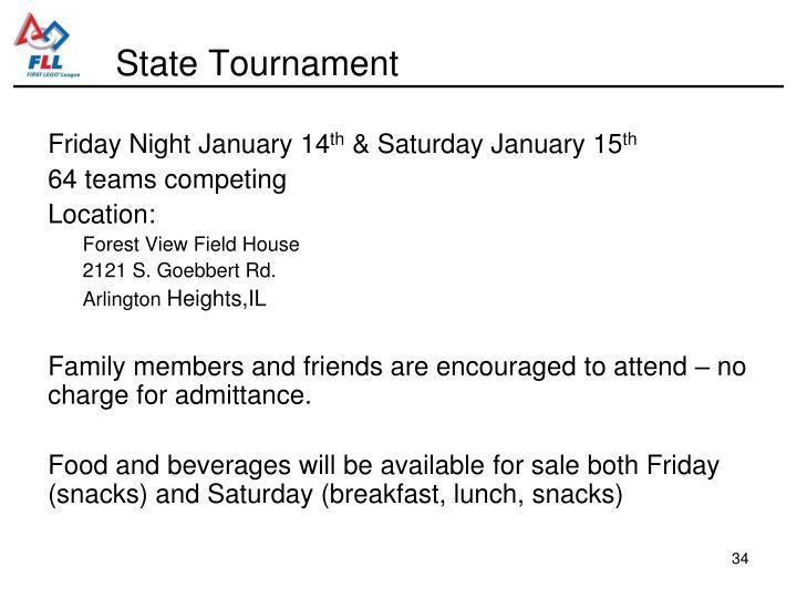 State Tournament