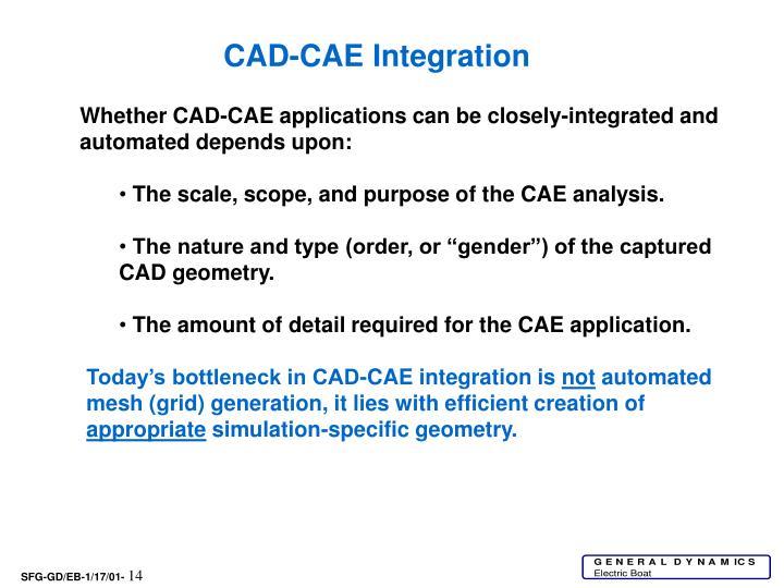CAD-CAE Integration